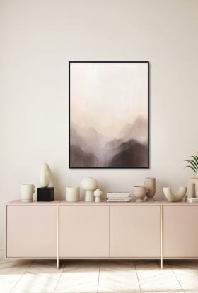 Misty Mountains Art