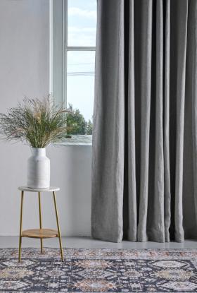 Vintage Linen Curtain